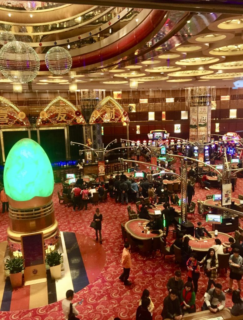 The Grand Lisboa Casino Macau