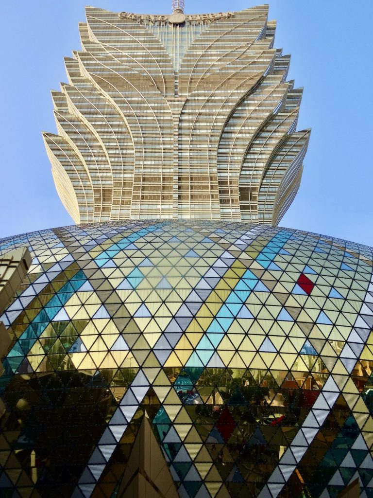 The Grand Lisboa Macau.