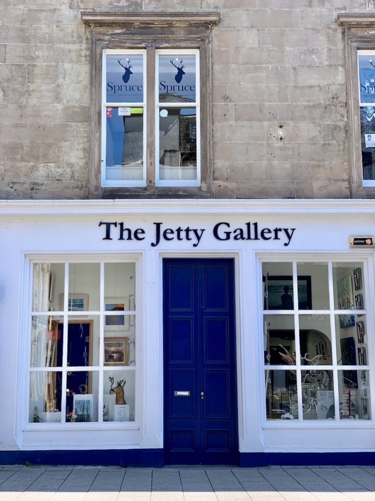 The Jetty Gallery Oban.