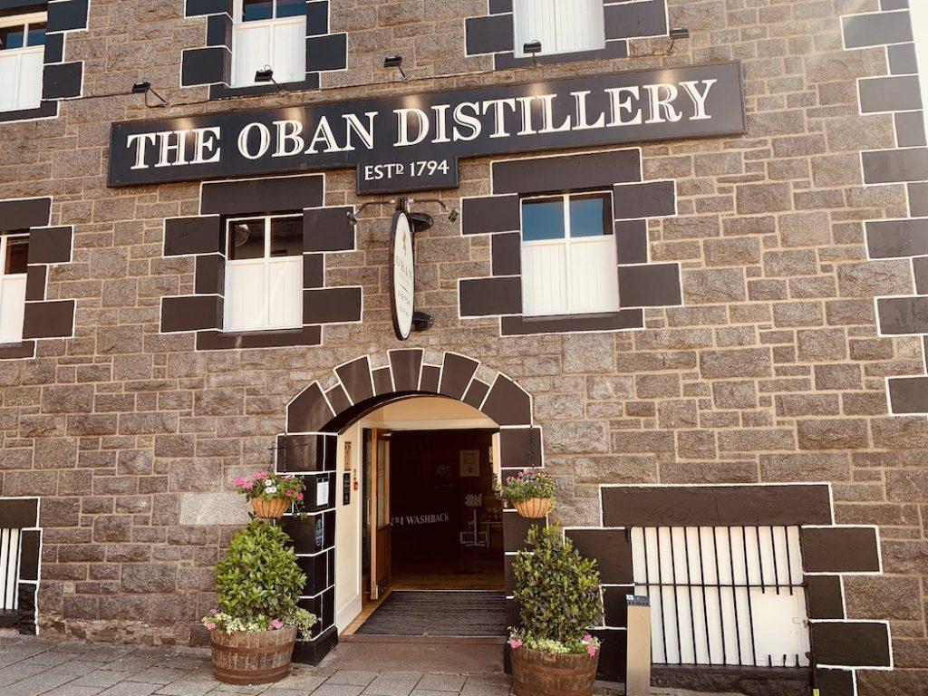 The Oban Distillery Scotland.