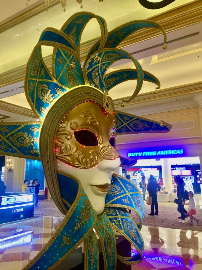 The Venetian Hotel and Casino Macau.
