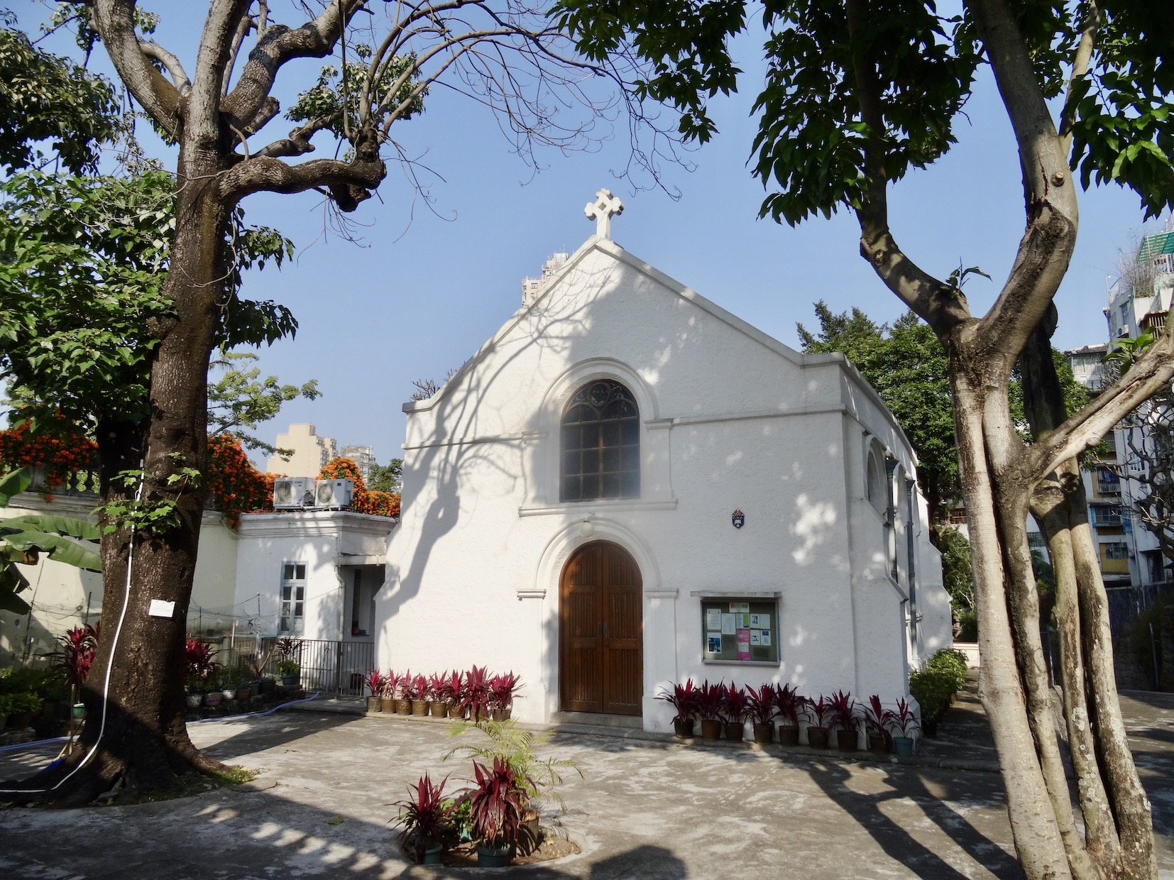 Visit Macau Protestant Chapel and Cemetery.