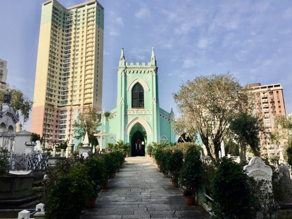 Visit Saint Michael's Chapel & Cemetery Macau.