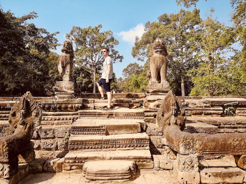 Visit The Angkor Temples Cambodia.