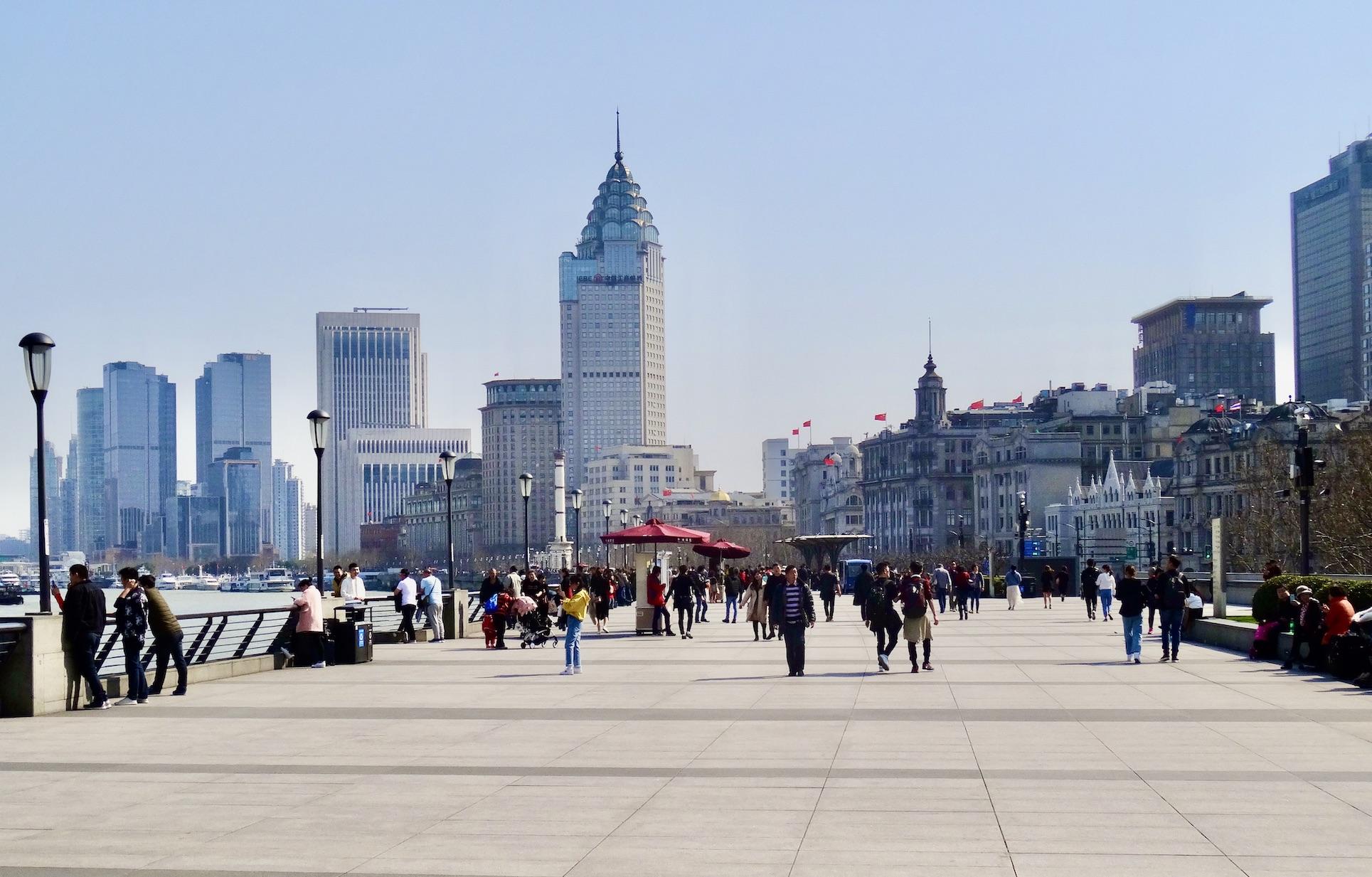 Visit The Bund Shanghai.
