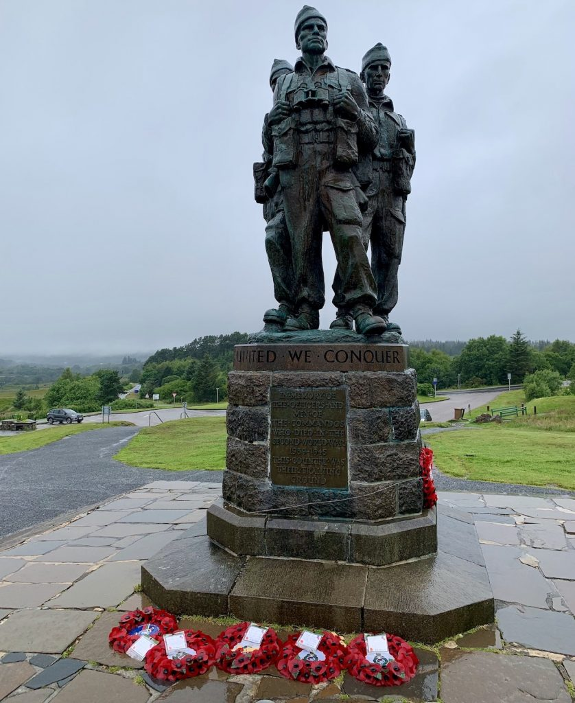 Visit The Commando Memorial Scotland.