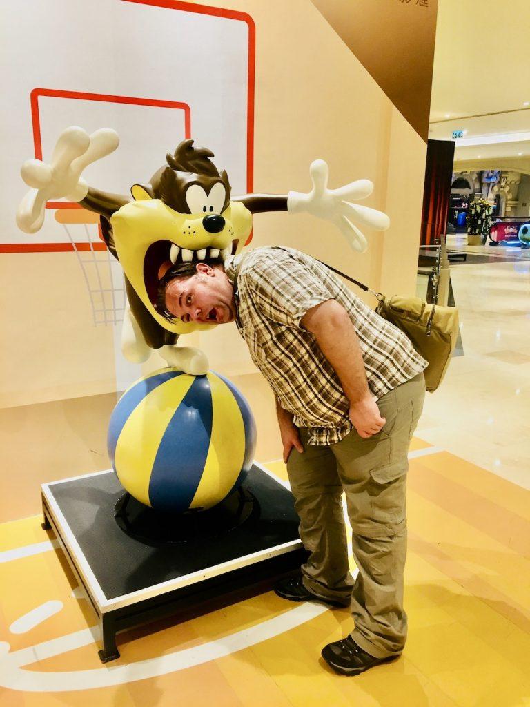 Warner Brothers Fun Zone Studio City Hotel Macau