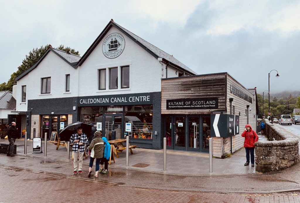 Caledonian Canal Centre Fort Augustus Scotland