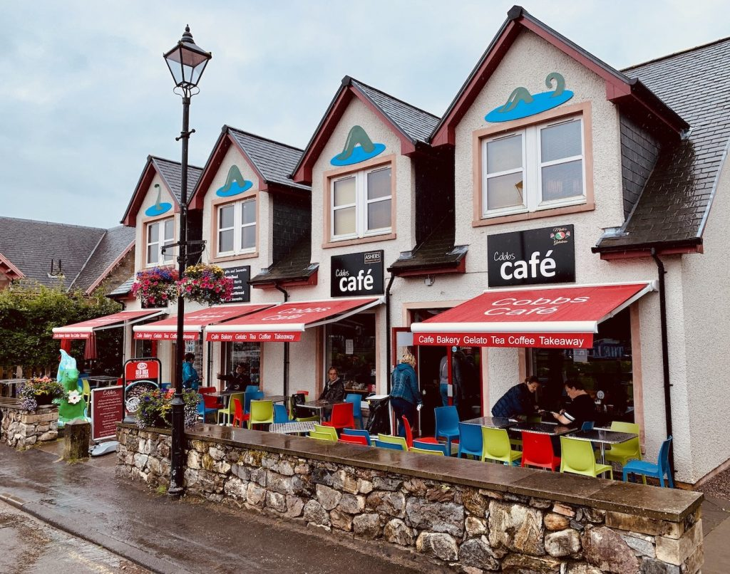 Cobbs Cafe Fort Augustus Scotland