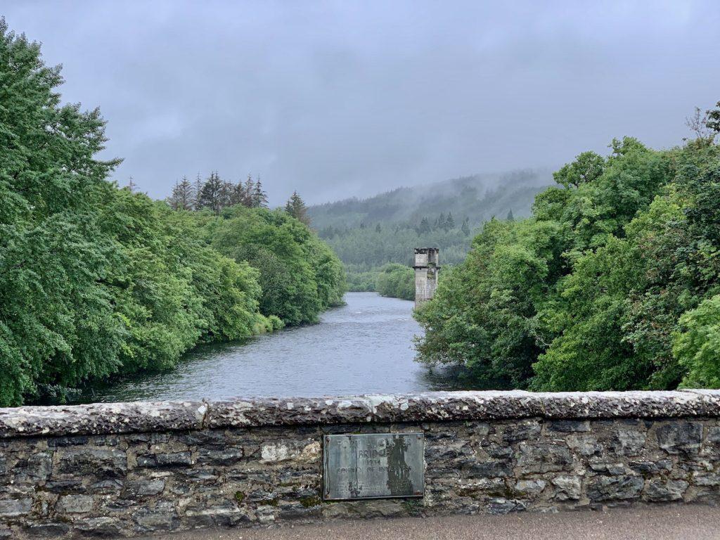 Fort Augustus Bridge Scotland.