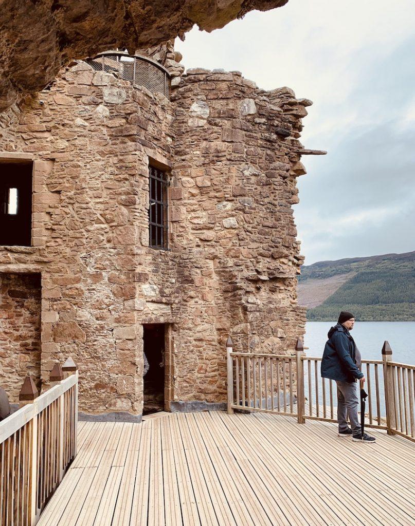 Grant Tower Urquhart Castle.