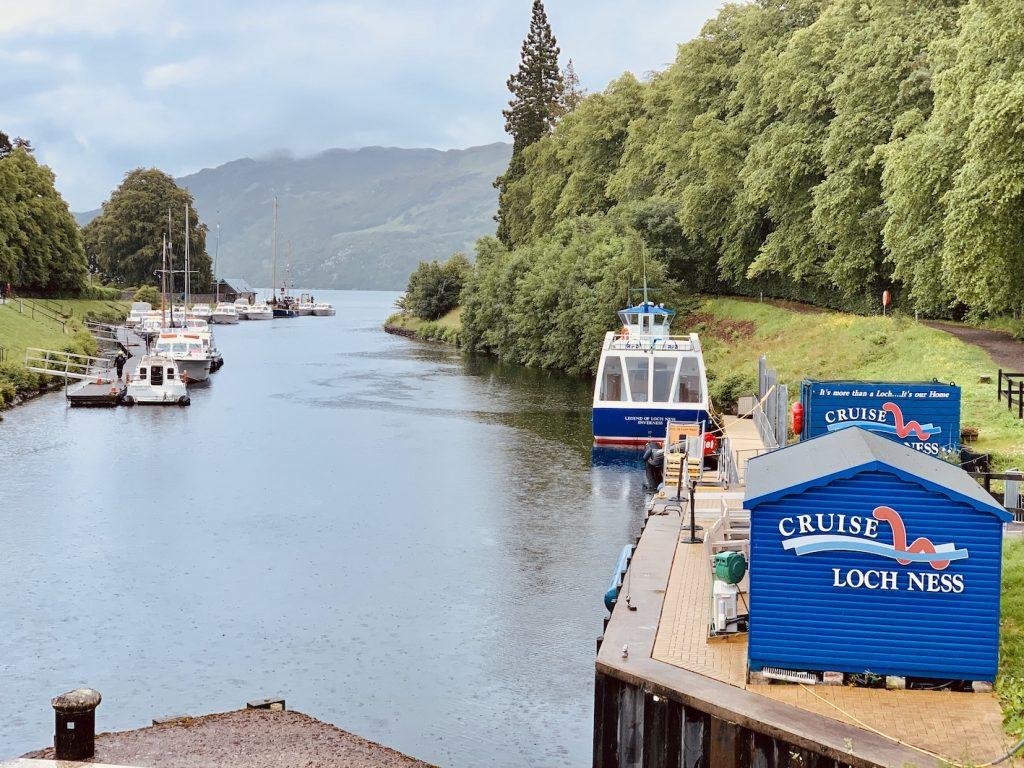 Loch Ness Cruise Fort Augustus Scotland