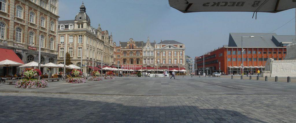 Martelarenplein Leuven.