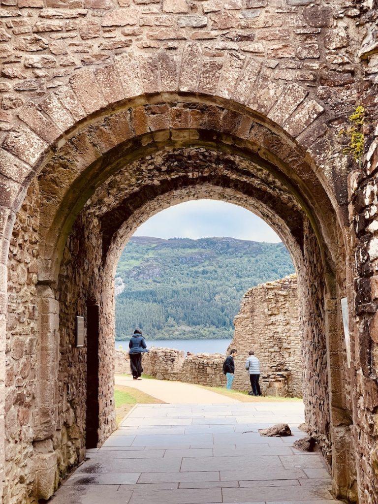 The Gatehouse Urquhart Castle Loch Ness