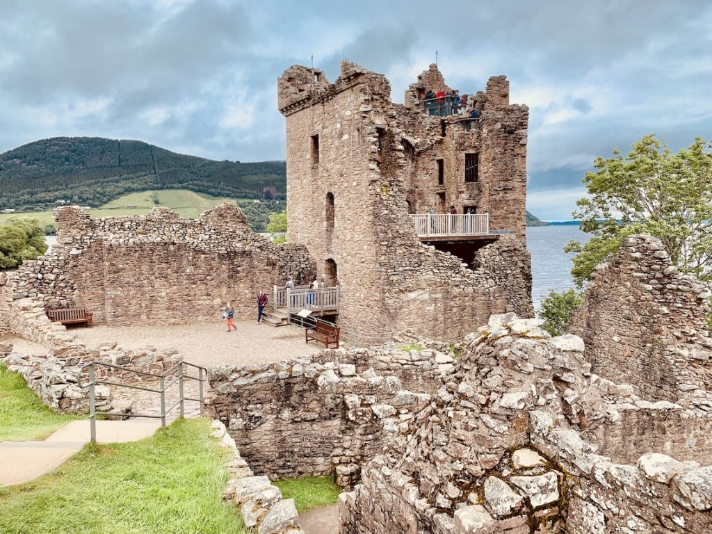 The Grant Tower Urquhart Castle.