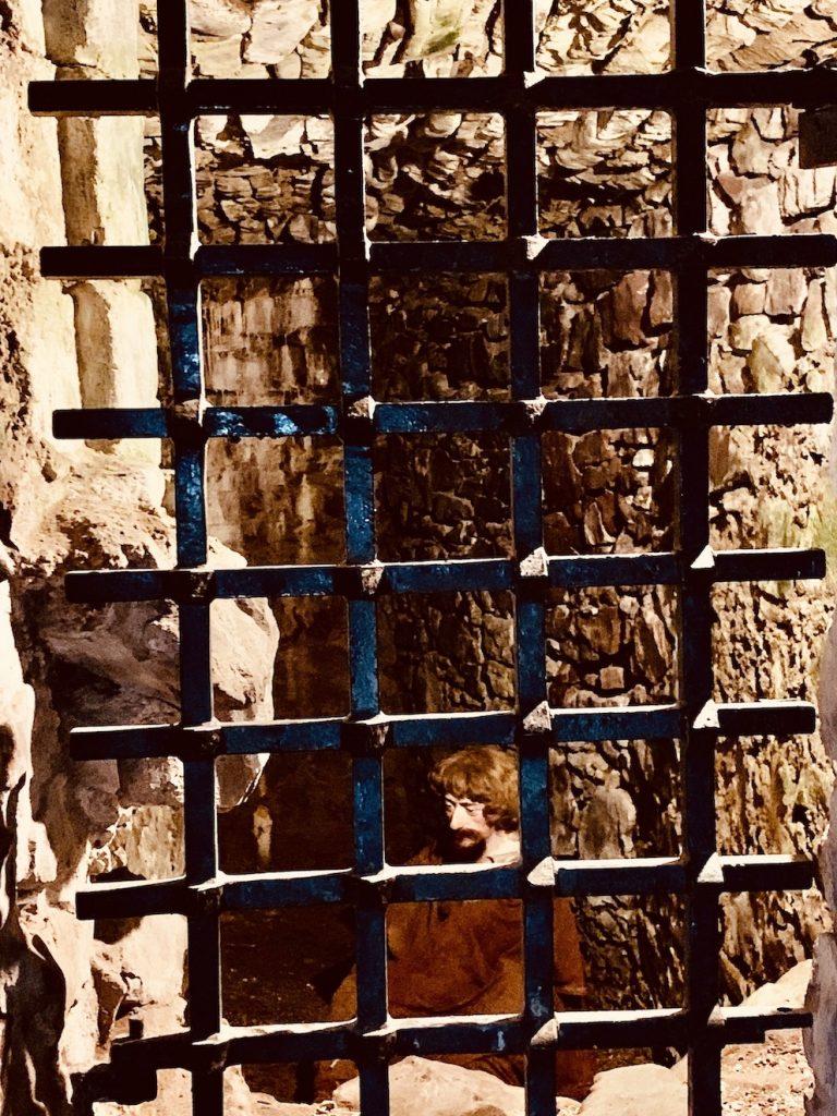 The Prison Cell Urquhart Castle Scotland