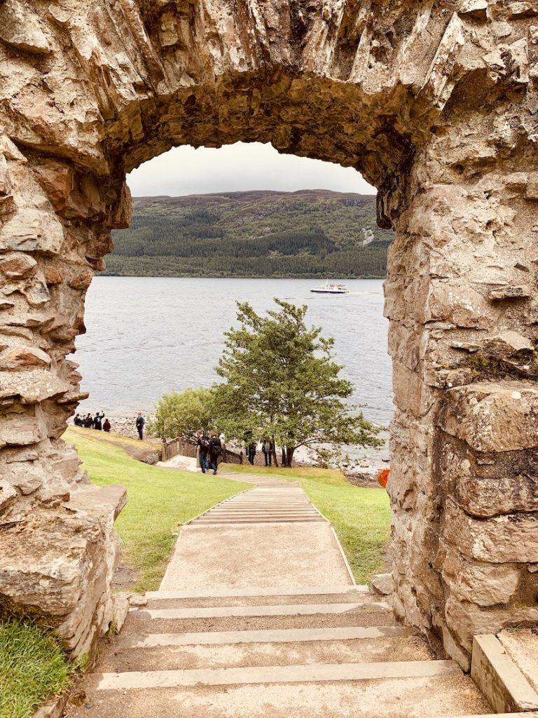 The Water Gate Urquhart Castle Loch Ness