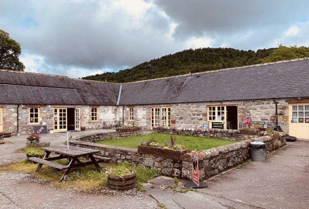 Visit Drum Farm Courtyard Drumnadrochit