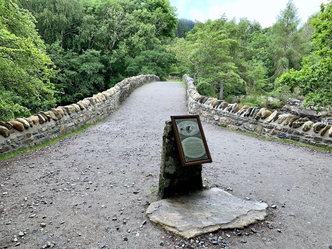 Visit Invermoriston Old Bridge Scotland