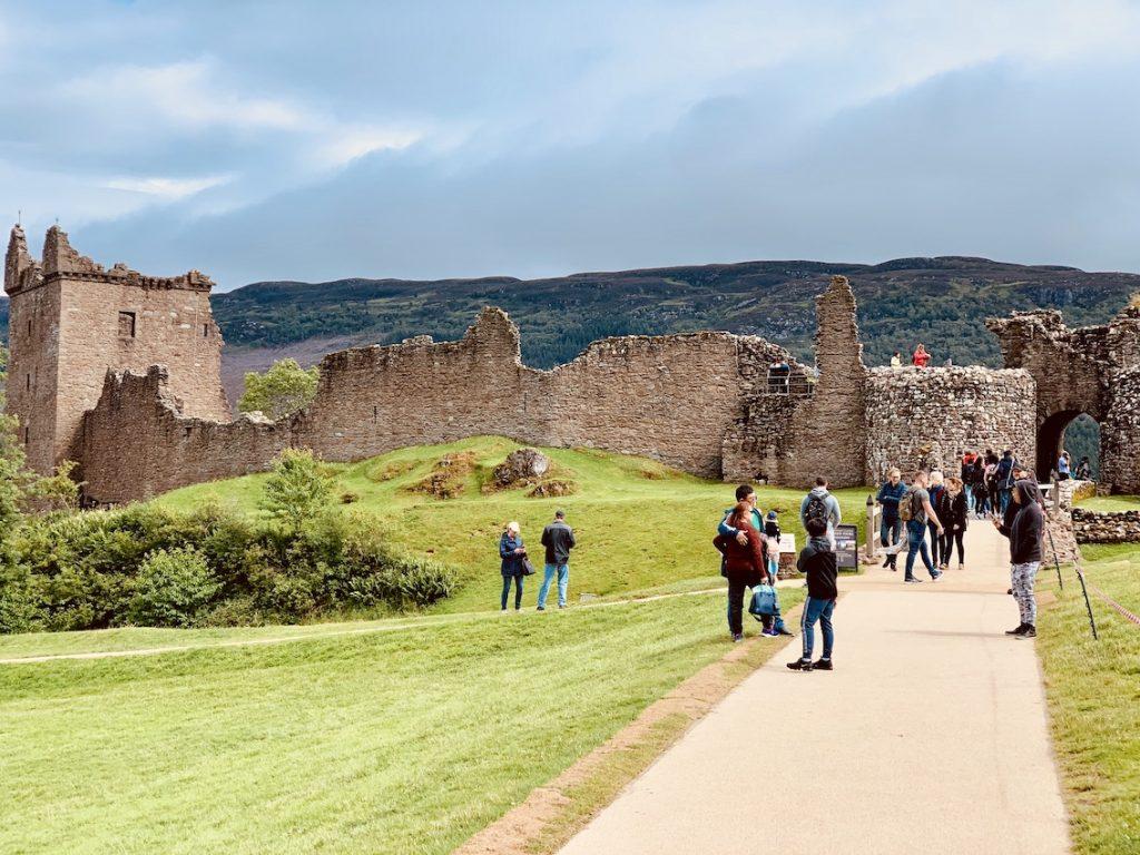 Visit Urquhart Castle Loch Ness Scotland