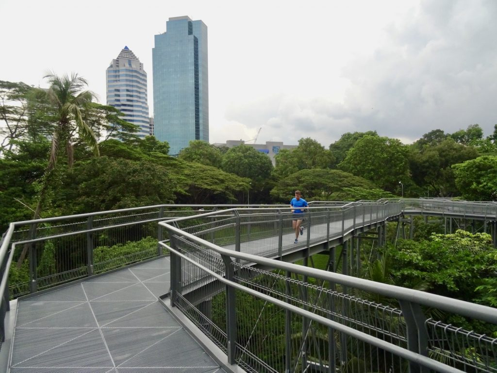 Alexandra Arch Pedestrian Bridge Singapore