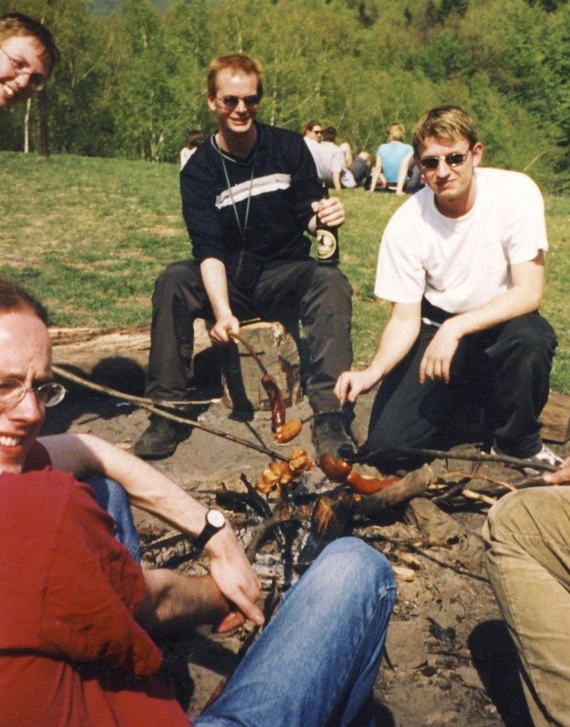 Barbecue at Koliba Park Bratislava.