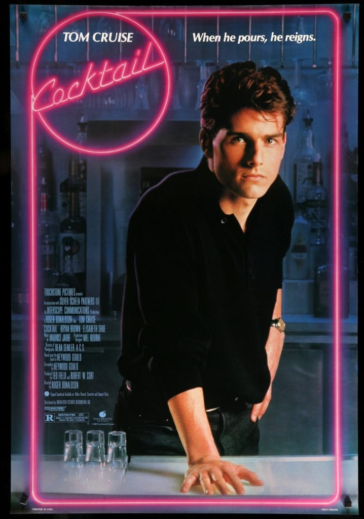 Cocktail Tom Cruise 1988.