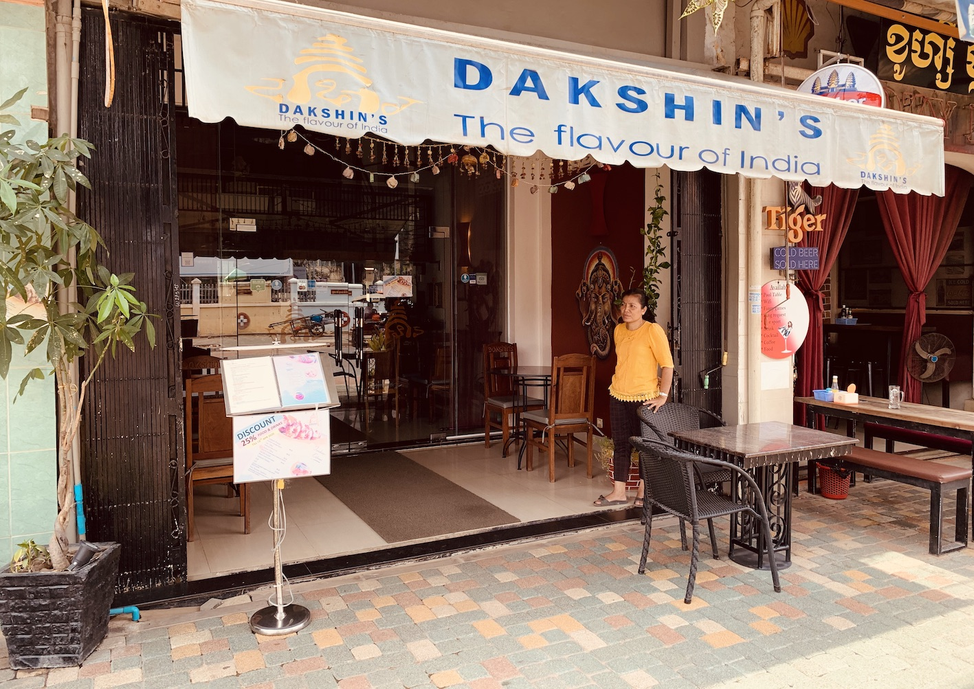 Dakshin's Indian Restaurant Siem Reap.