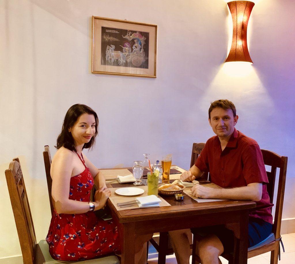 Dakshin's where to eat Siem Reap.