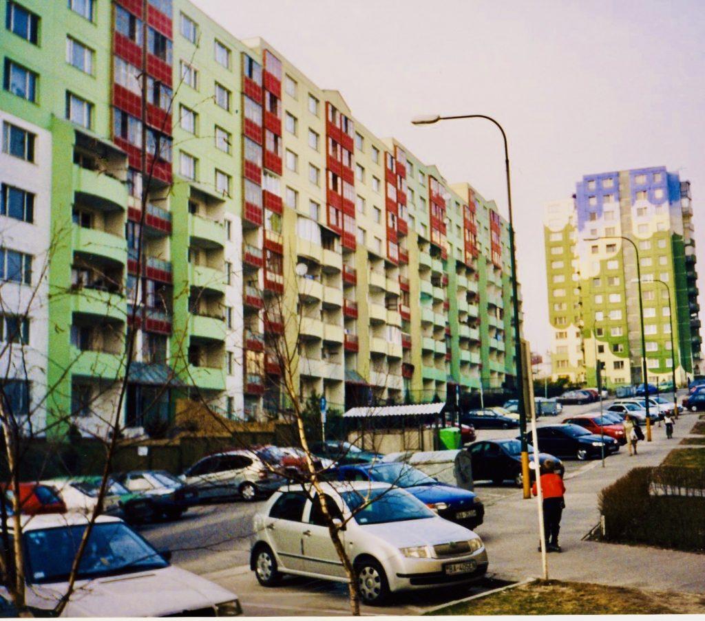Dhle Diely residential neighbourhood Bratislava.