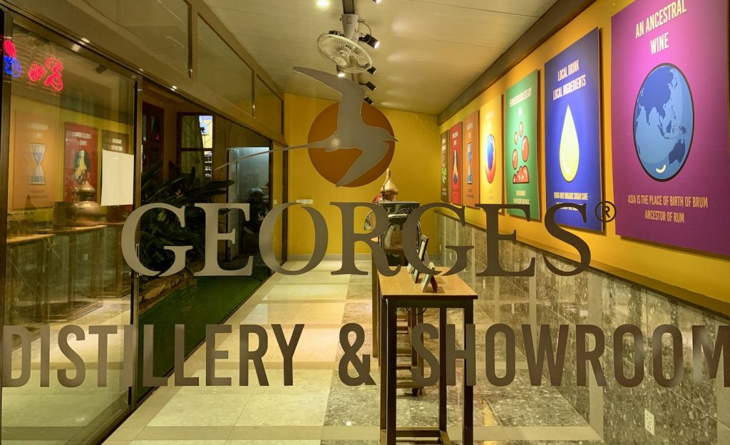 Georges Distillery and Showroom Siem Reap.