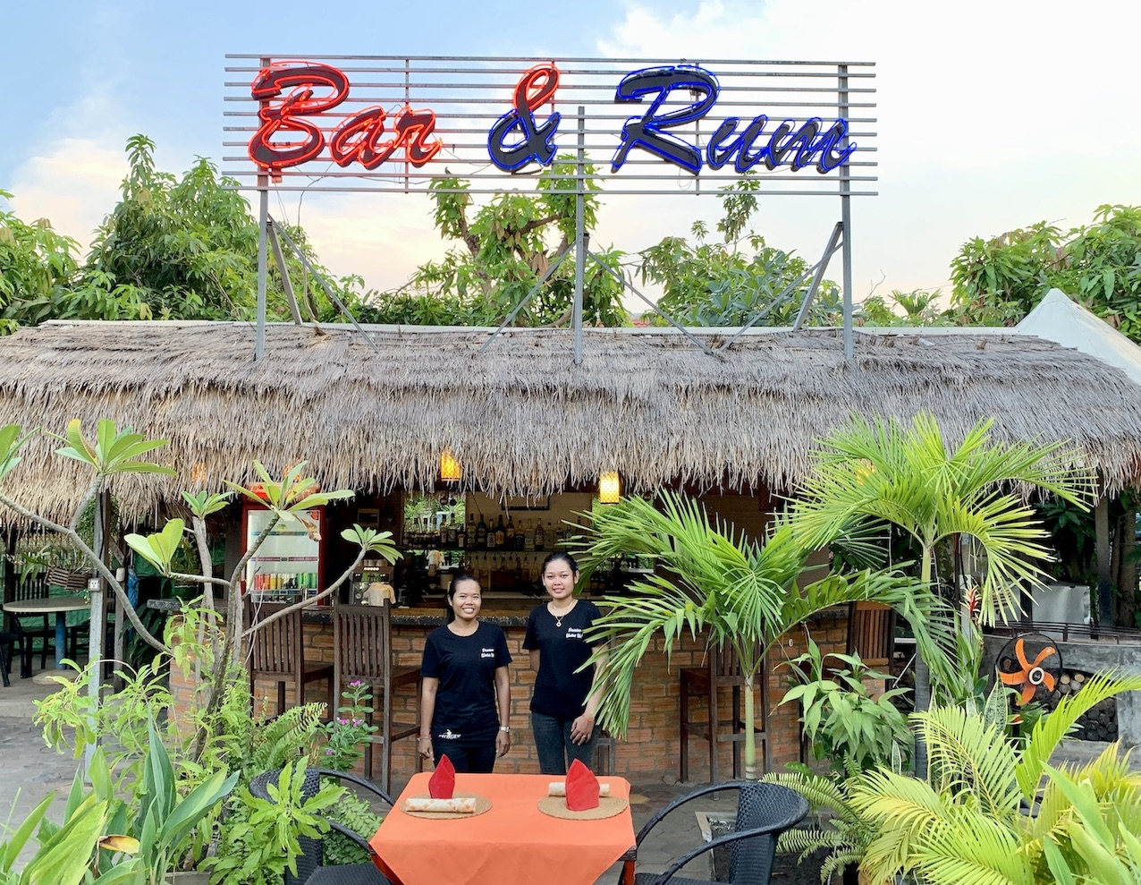 Georges Restaurant and Distillery Siem Reap Cambodia.