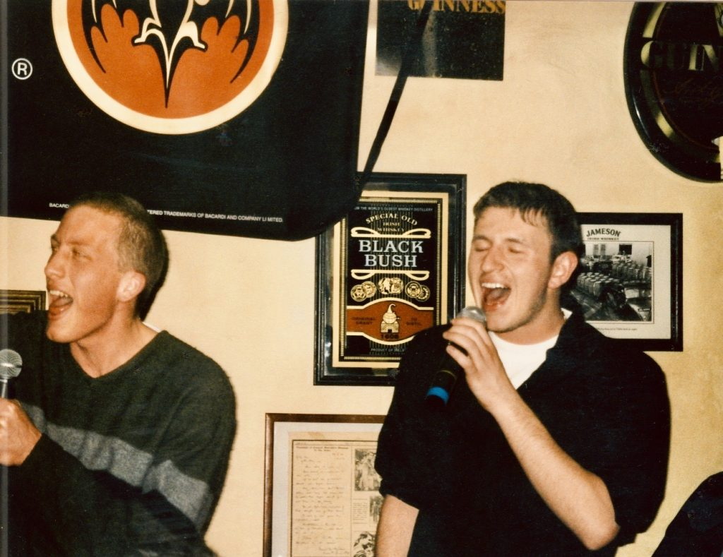 Karaoke at The Dubliner Pub Bratislava.