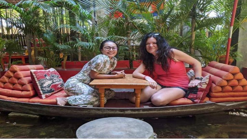 Kathryn Prince Som Sovannary The Ivy Guesthouse Siem Reap