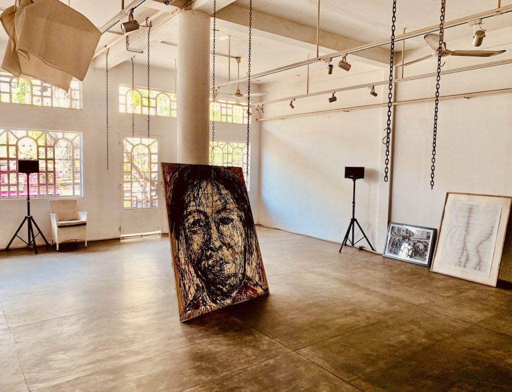 Loft art gallery The Village Cafe Siem Reap