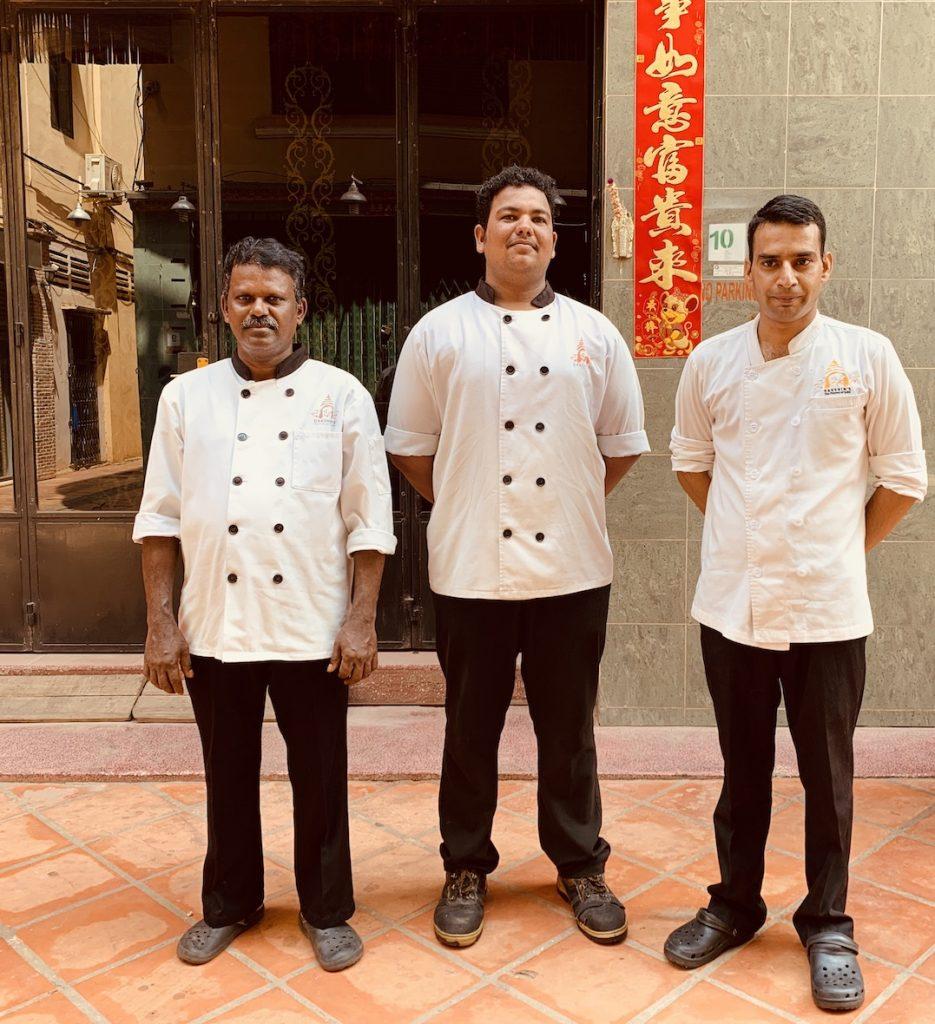 Meet the chefs Dakshin's Indian Restaurant Siem Reap.