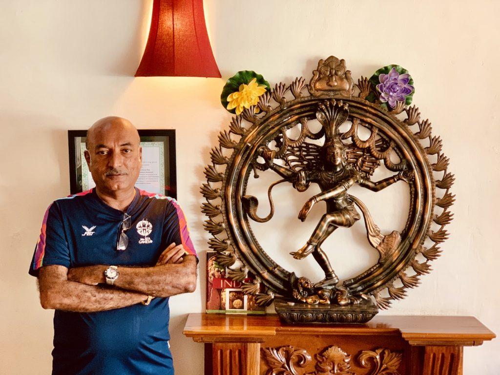 Mr. B Pannirselvam Dakshin's Indian Restaurant Siem Reap.