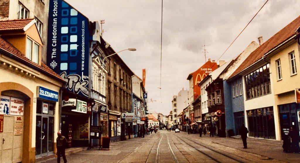 Obchodna Street Bratislava.