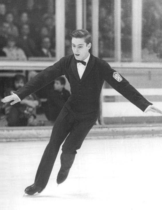 Ondrej Nepela Slovak figure skater.