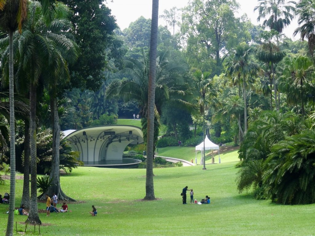 Singapore Botanic Garden.