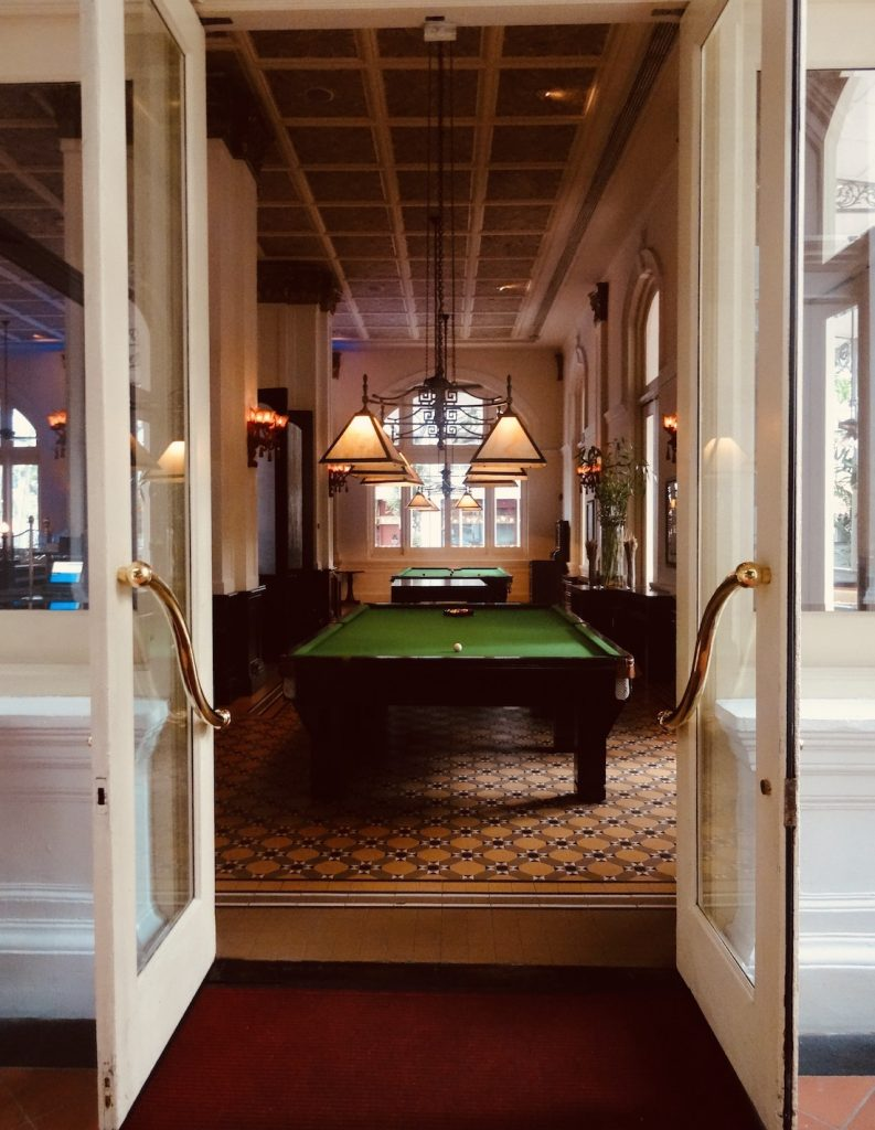 The Billiards Room The Raffles Hotel Singapore