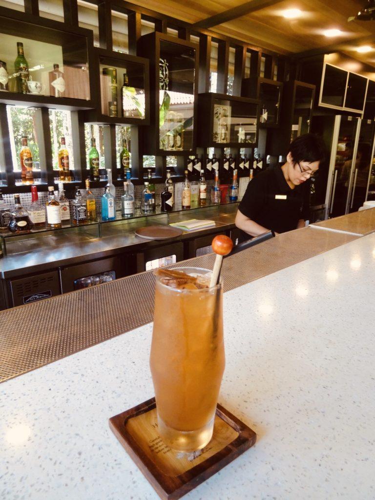 The Ginger Garden Bar and Restaurant Singapore Botanic Gardens.