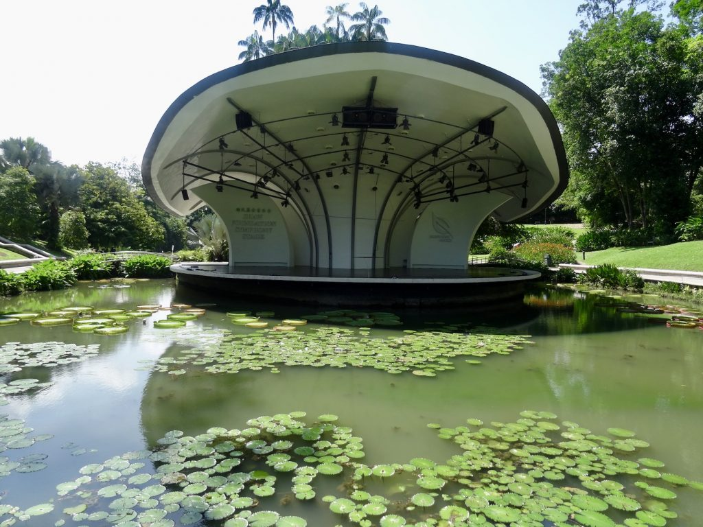 The Symphony Stage Singapore Botanic Garden