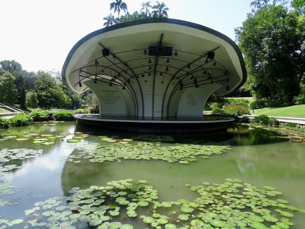 The Symphony Stage Singapore Botanic Garden