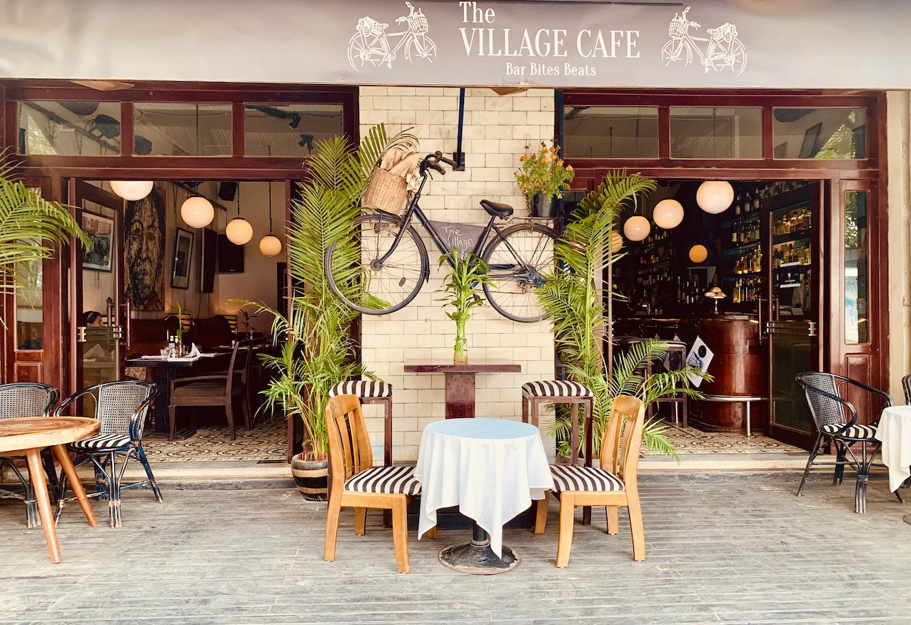 The Village Cafe Siem Reap.