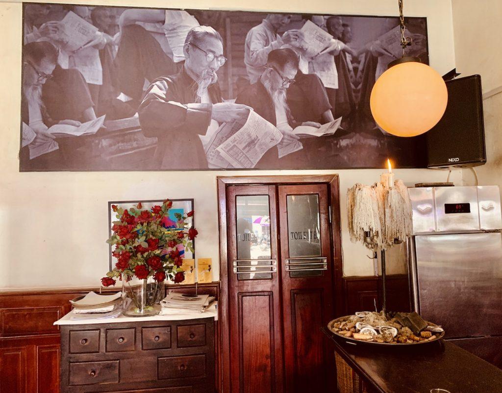 The Village Cafe in Siem Reap.