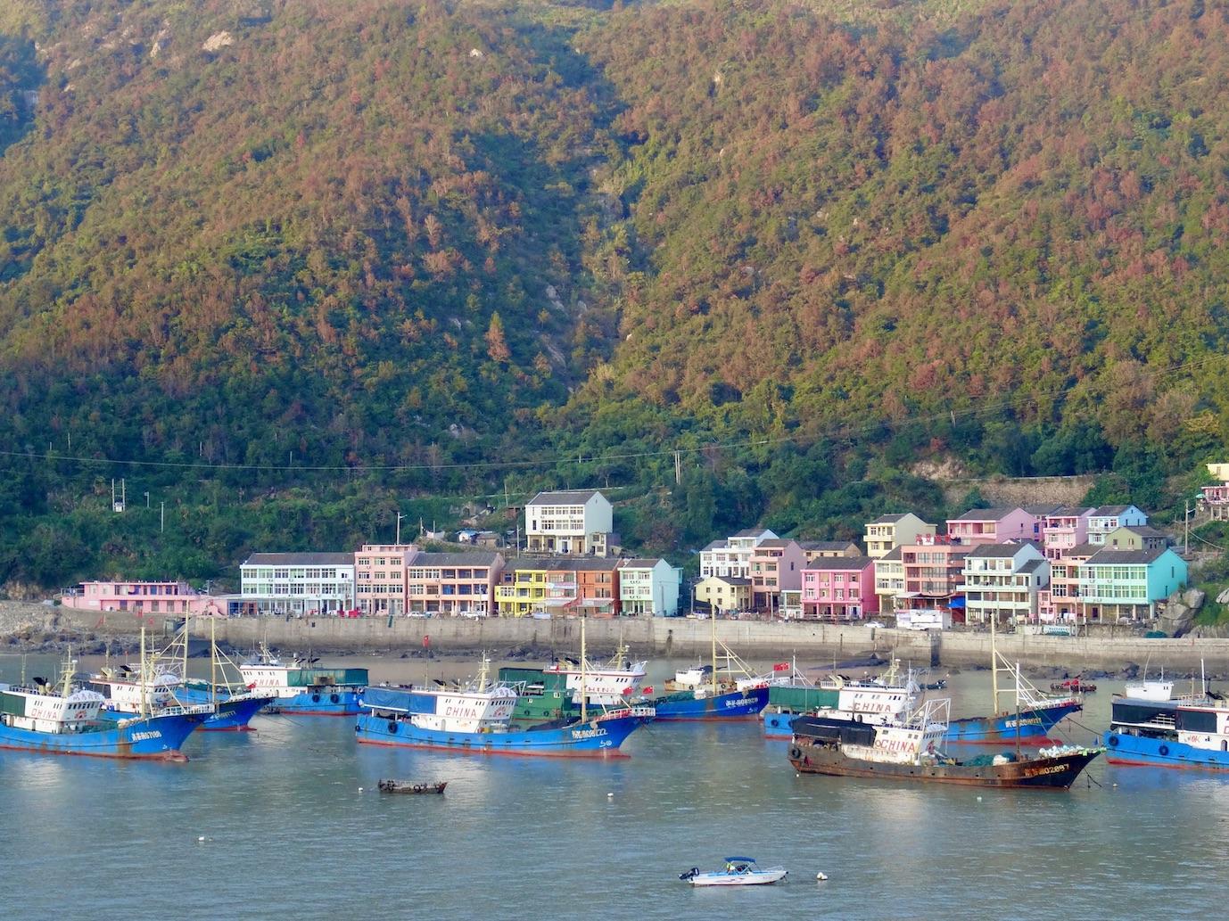 Wucheng Village Cangnan County China.