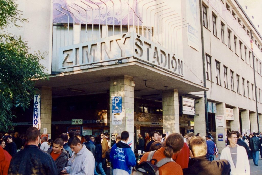 Zimny Stadium Bratislava.