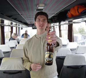 Bus trip Slovakia.