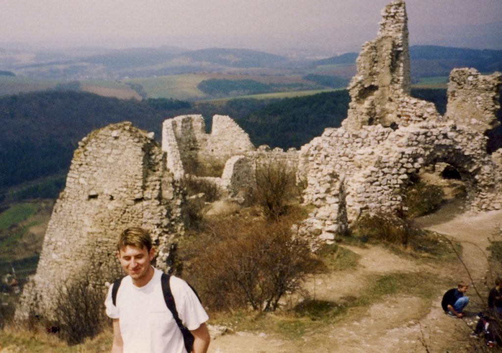 Cachtice Castle Slovakia.
